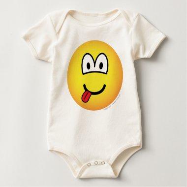 Happy face emoticon   baby_toddler_apparel_tshirt