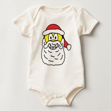 Santa smile   baby_toddler_apparel_tshirt