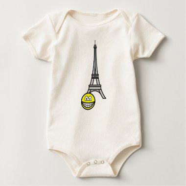 Eiffel tower smile   baby_toddler_apparel_tshirt