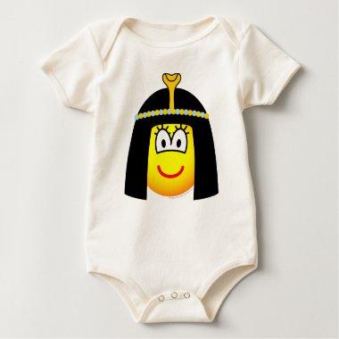 Cleopatra emoticon   baby_toddler_apparel_tshirt