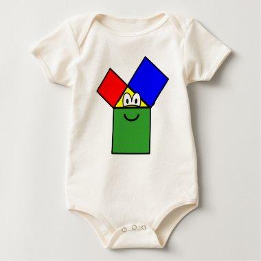 Pythagoras buddy icon   baby_toddler_apparel_tshirt