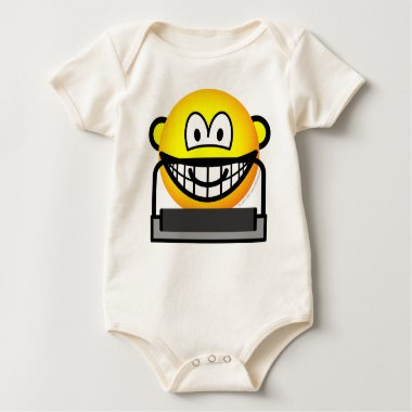 Treadmill emoticon   baby_toddler_apparel_tshirt