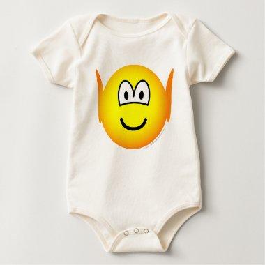 Elf emoticon   baby_toddler_apparel_tshirt