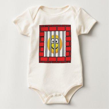 Jailed emoticon   baby_toddler_apparel_tshirt