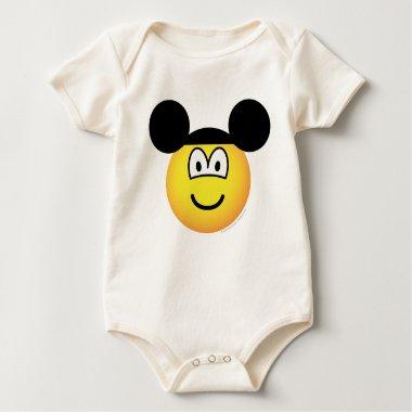 Disney world emoticon   baby_toddler_apparel_tshirt