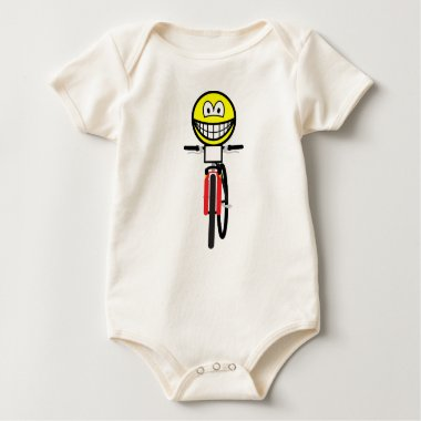 Mountain biking smile Olympic sport Cycling baby_toddler_apparel_tshirt