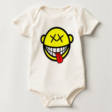 Happy smile   baby_toddler_apparel_tshirt