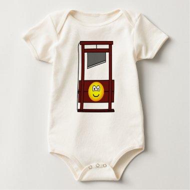 Guillotine emoticon   baby_toddler_apparel_tshirt