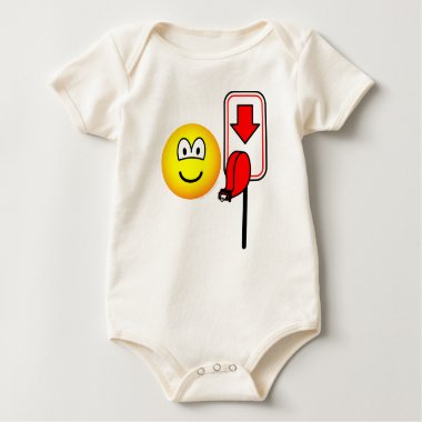 Queueing emoticon take a number  baby_toddler_apparel_tshirt