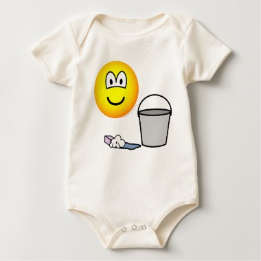 Cleaning emoticon   baby_toddler_apparel_tshirt