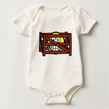 Fenced in smile   baby_toddler_apparel_tshirt