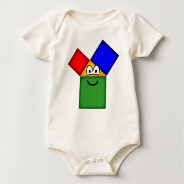 Pythagoras emoticon   baby_toddler_apparel_tshirt