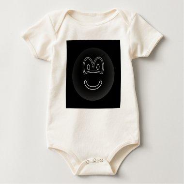 Black hole emoticon   baby_toddler_apparel_tshirt