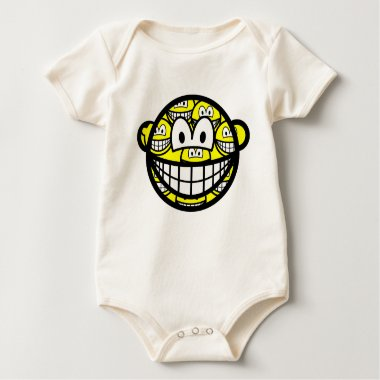 Multiple personality smile   baby_toddler_apparel_tshirt