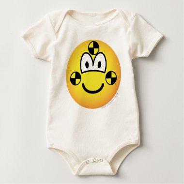 Crash test dummy emoticon   baby_toddler_apparel_tshirt