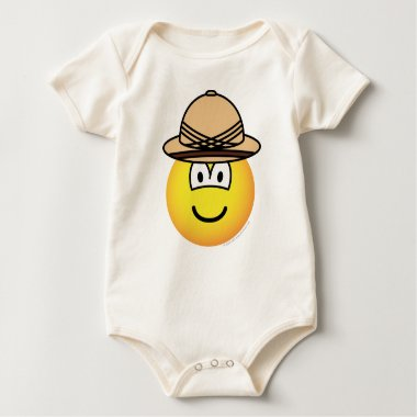 Tropical emoticon   baby_toddler_apparel_tshirt