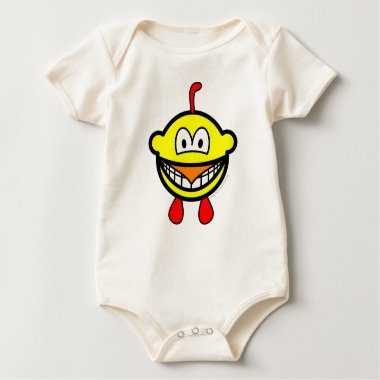Chicken smile   baby_toddler_apparel_tshirt
