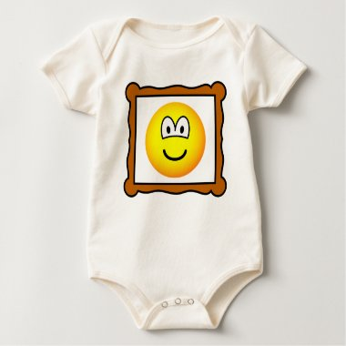 Picture frame emoticon   baby_toddler_apparel_tshirt