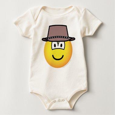 Cowboy emoticon   baby_toddler_apparel_tshirt