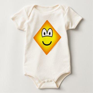 Diamond emoticon Shape  baby_toddler_apparel_tshirt