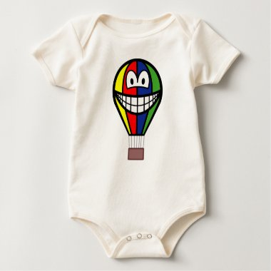 Balloon smile Colorful  baby_toddler_apparel_tshirt