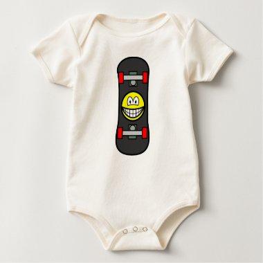 Skateboard smile   baby_toddler_apparel_tshirt