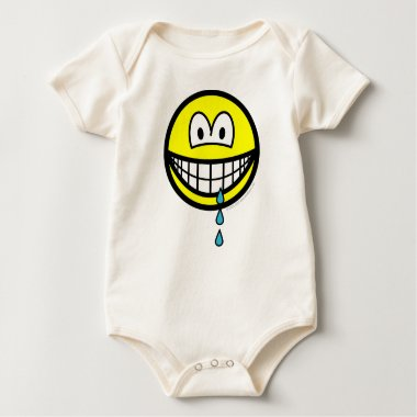 Drool smile   baby_toddler_apparel_tshirt
