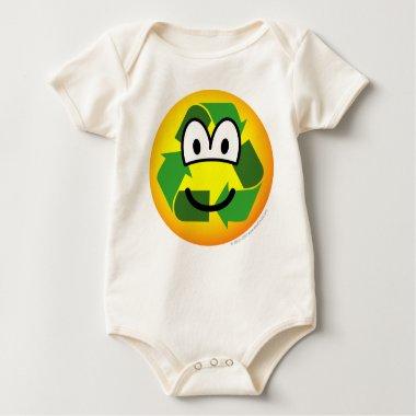 Recycle emoticon   baby_toddler_apparel_tshirt