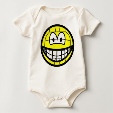 Volleyball smile   baby_toddler_apparel_tshirt