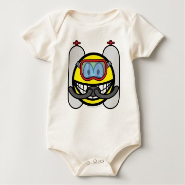 Scubadive smile   baby_toddler_apparel_tshirt