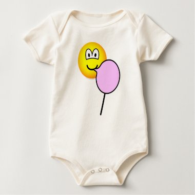 Cotton candy emoticon   baby_toddler_apparel_tshirt