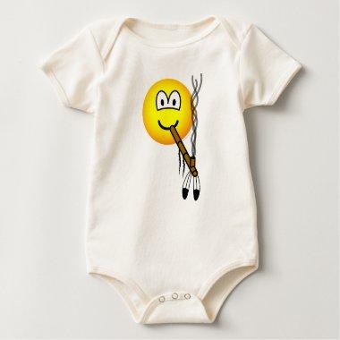 Peacepipe emoticon   baby_toddler_apparel_tshirt