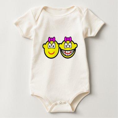 Identical twins buddy icon Girls  baby_toddler_apparel_tshirt