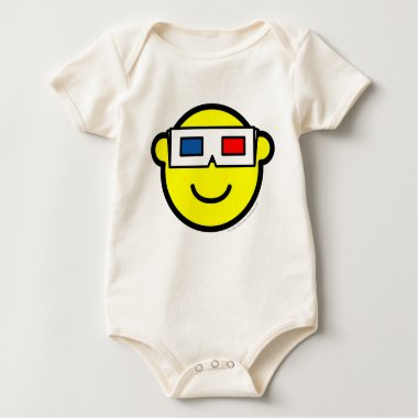 3D glasses buddy icon   baby_toddler_apparel_tshirt