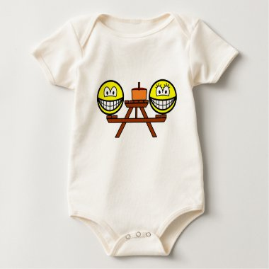 Picnic table smile   baby_toddler_apparel_tshirt