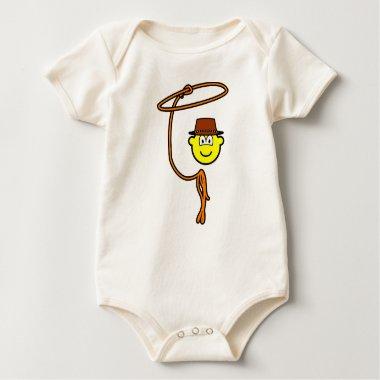 Cowboy lasso buddy icon   baby_toddler_apparel_tshirt