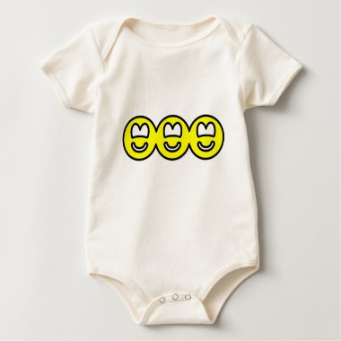 Cut out smilies banner  baby_toddler_apparel_tshirt