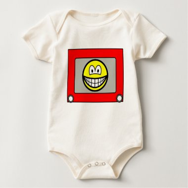 Etch a sketch smile   baby_toddler_apparel_tshirt