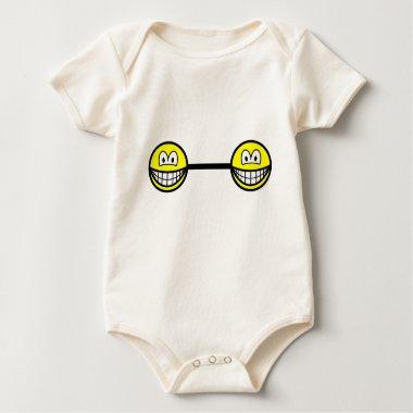Bar bell smile   baby_toddler_apparel_tshirt