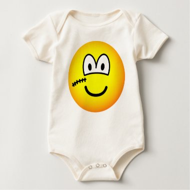 Scarface emoticon   baby_toddler_apparel_tshirt