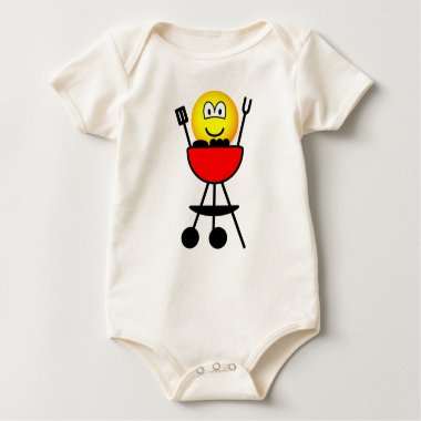 BBQ emoticon   baby_toddler_apparel_tshirt