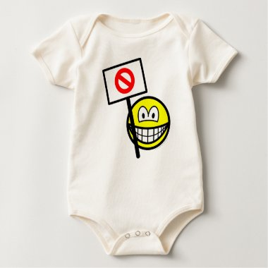 Demonstrator smile   baby_toddler_apparel_tshirt