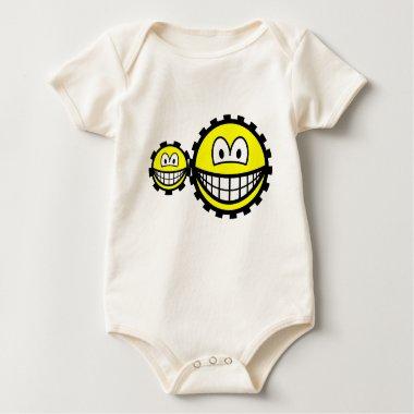 Cogwheels smilies   baby_toddler_apparel_tshirt