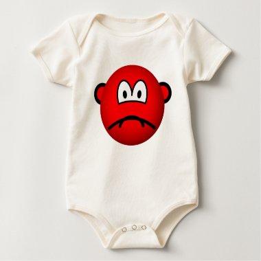 Sad red smile   baby_toddler_apparel_tshirt