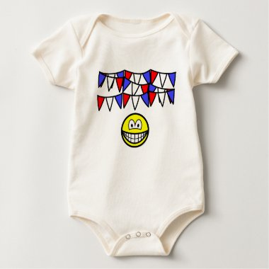 Bunting smile   baby_toddler_apparel_tshirt