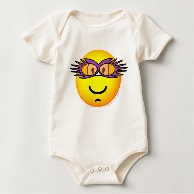 Elton John emoticon   baby_toddler_apparel_tshirt