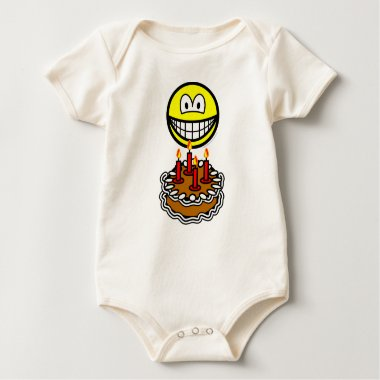 Blowing out candles smile   baby_toddler_apparel_tshirt