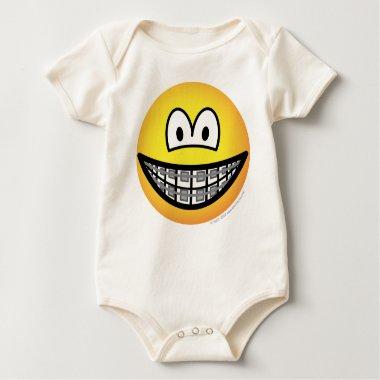 Braces emoticon   baby_toddler_apparel_tshirt
