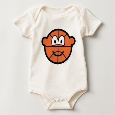 Basketball buddy icon   baby_toddler_apparel_tshirt