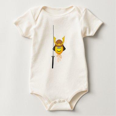 Samurai emoticon   baby_toddler_apparel_tshirt